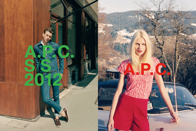 A.P.C. Spring / Summer 2012