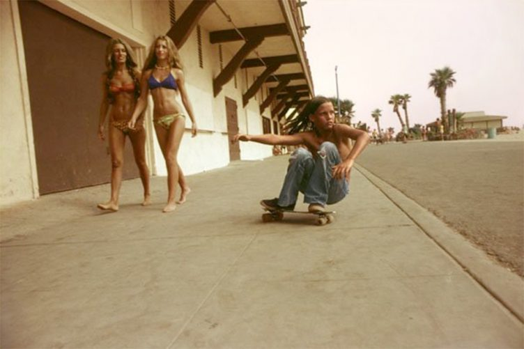 Sidewalk Surfer - Hugh Holland 1976
