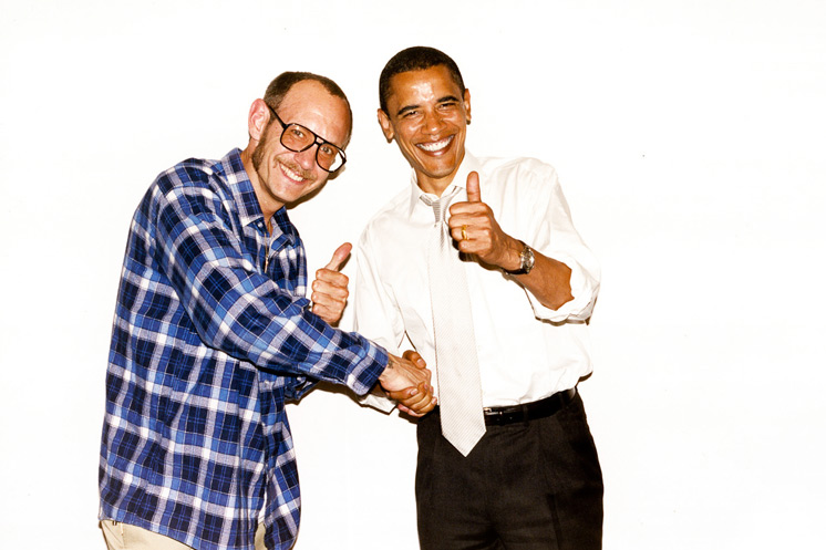 Terry Richardson and Barack Obama