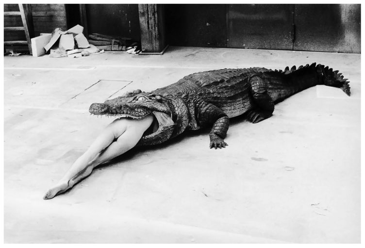 Photo Helmut Newton – A Scene from Pina Bausch's Ballet, 1983