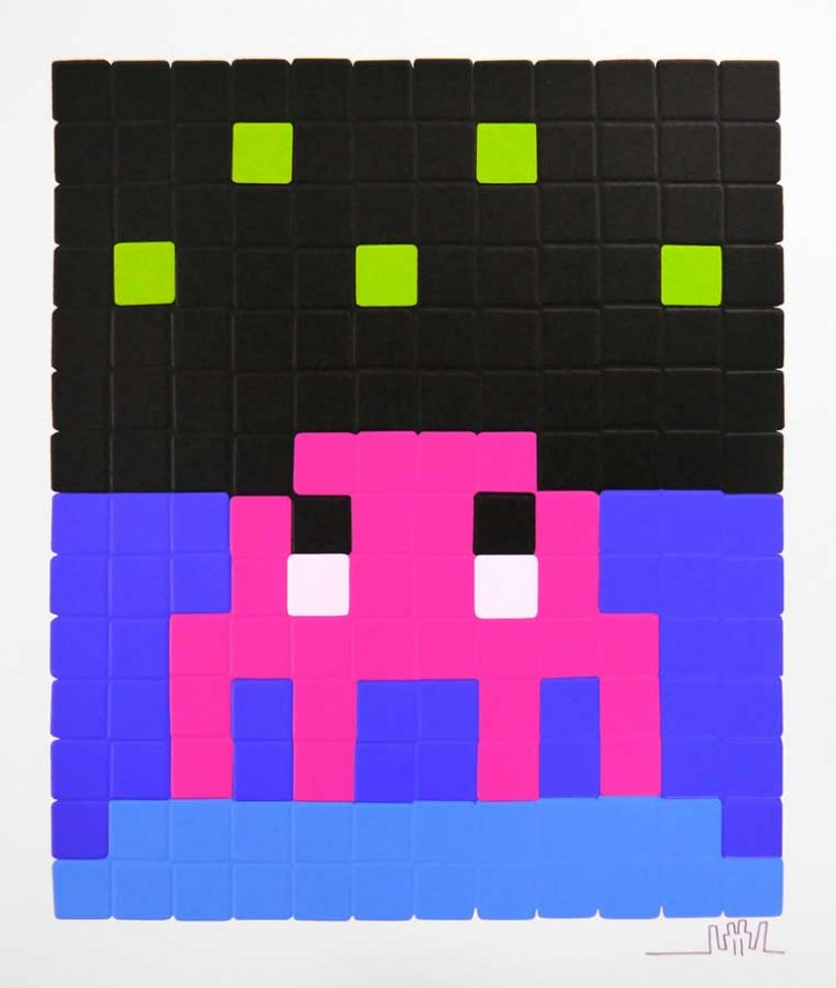 Pink Space One - Space Invader