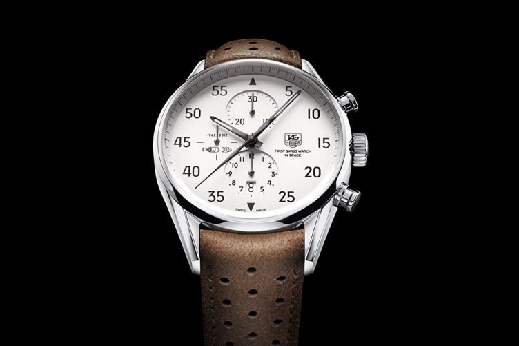 TAG Heuer Carrera 1887 SpaceX Watch