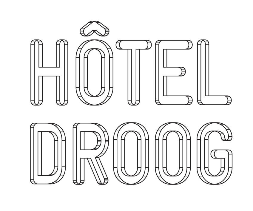hotel droog amsterdam logo IIHIH