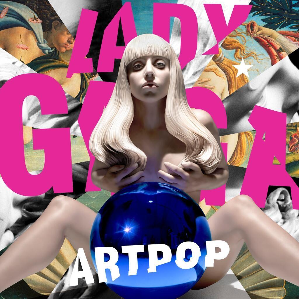 Lady Gaga Artpop Cover Jeff Koons