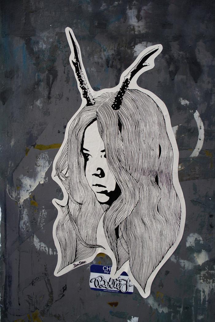 street art — C O W B O Y Z O O M