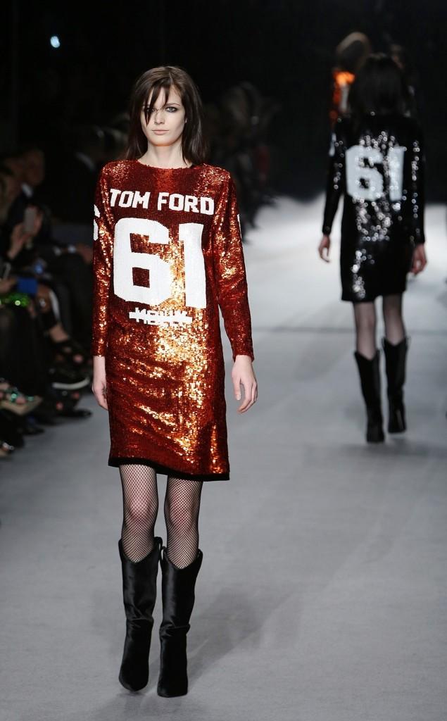 TOM FORD: Runway - London Fashion Week AW14