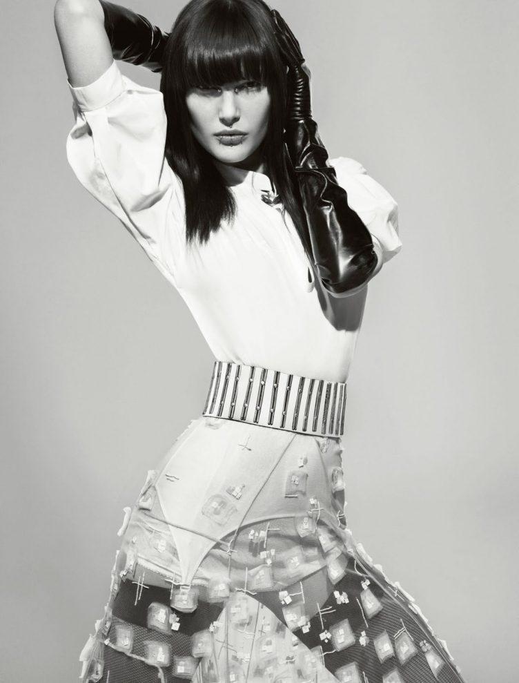 Catherine McNeil By Tom Munro For Numéro C12