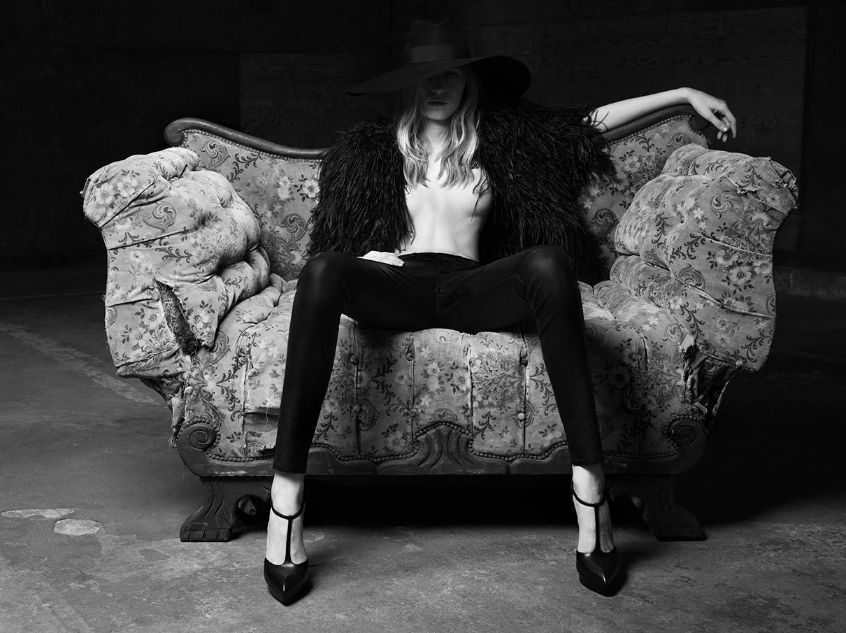 Julia Nobis For Saint Laurent  C O W B O Y Z O O M-2927