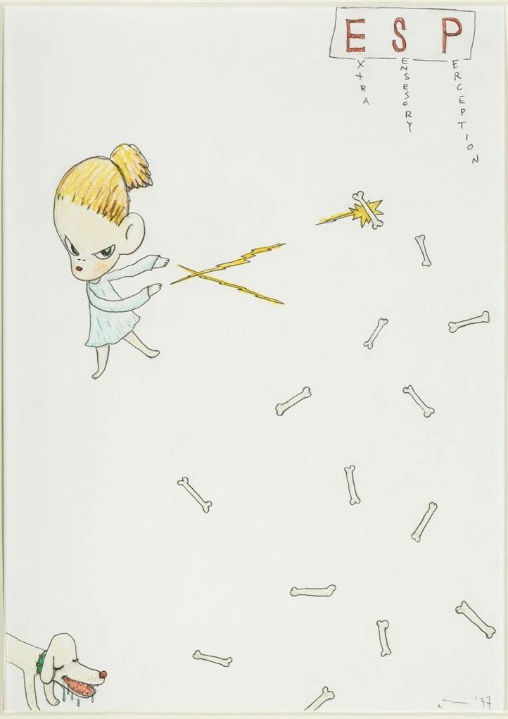 Extra Sensesory Perception – 1997, Yoshitomo Nara
