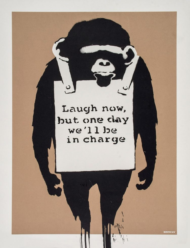banksy-laugh-now-prints-and-multiples-screenprint