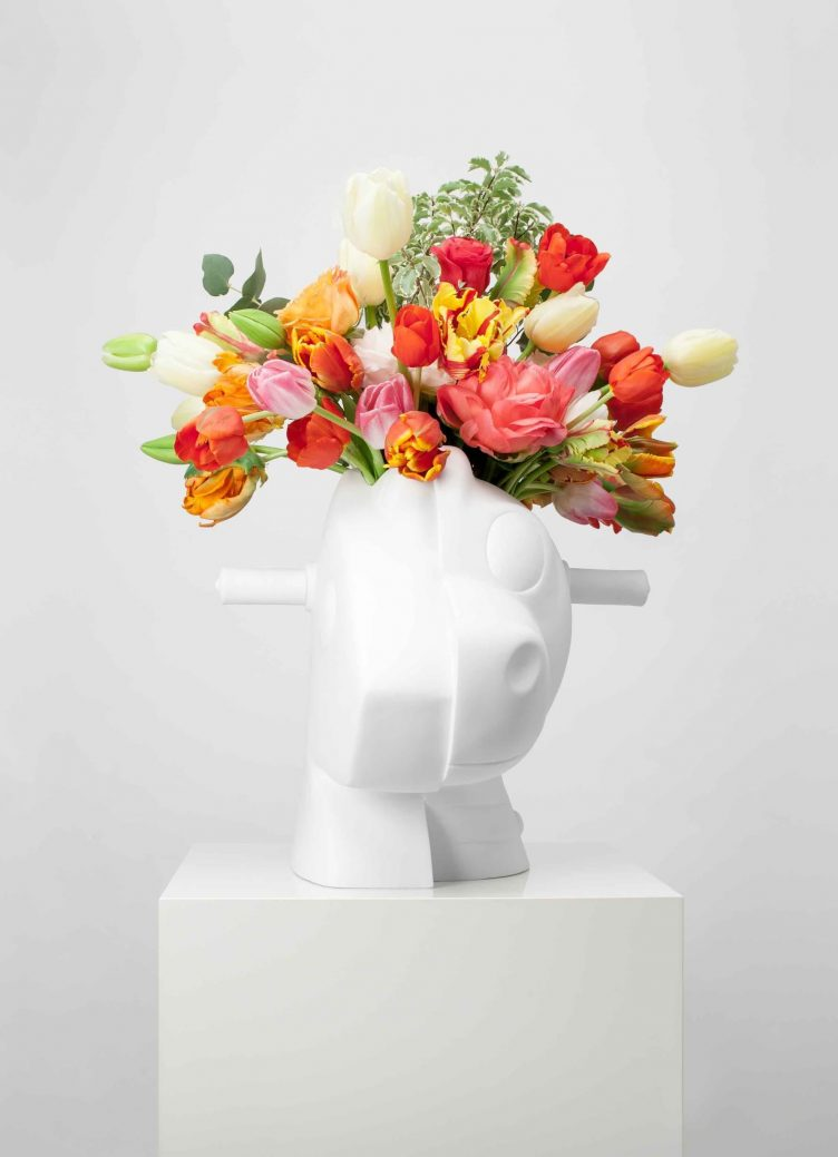 Jeff Koons Split-Rocker (Vase)