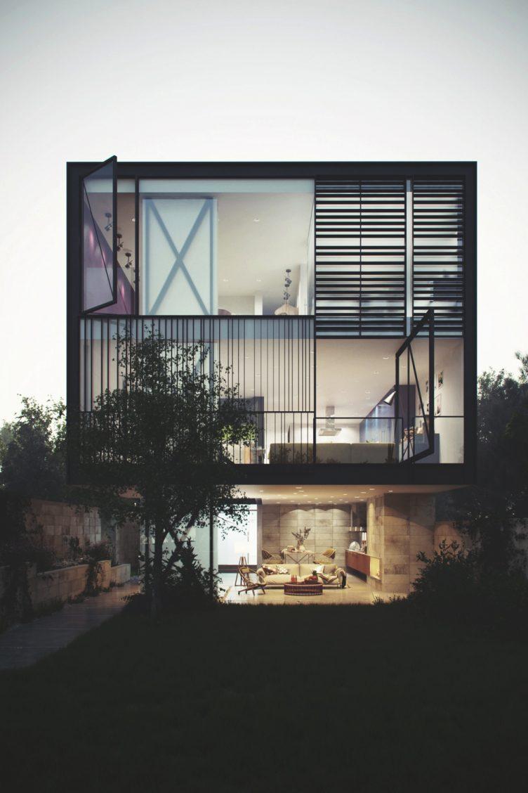 glass-box-house
