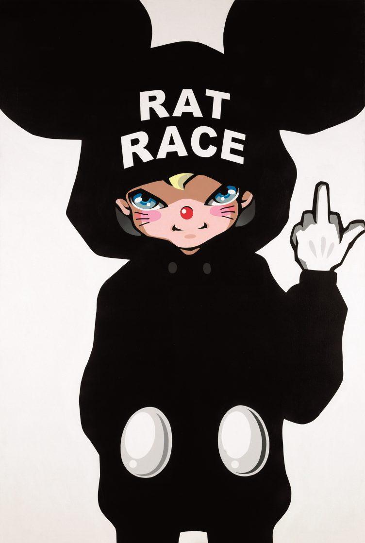 hiroyuki-matsuura-rat-race-paintings-acrylic-cowboyzoom