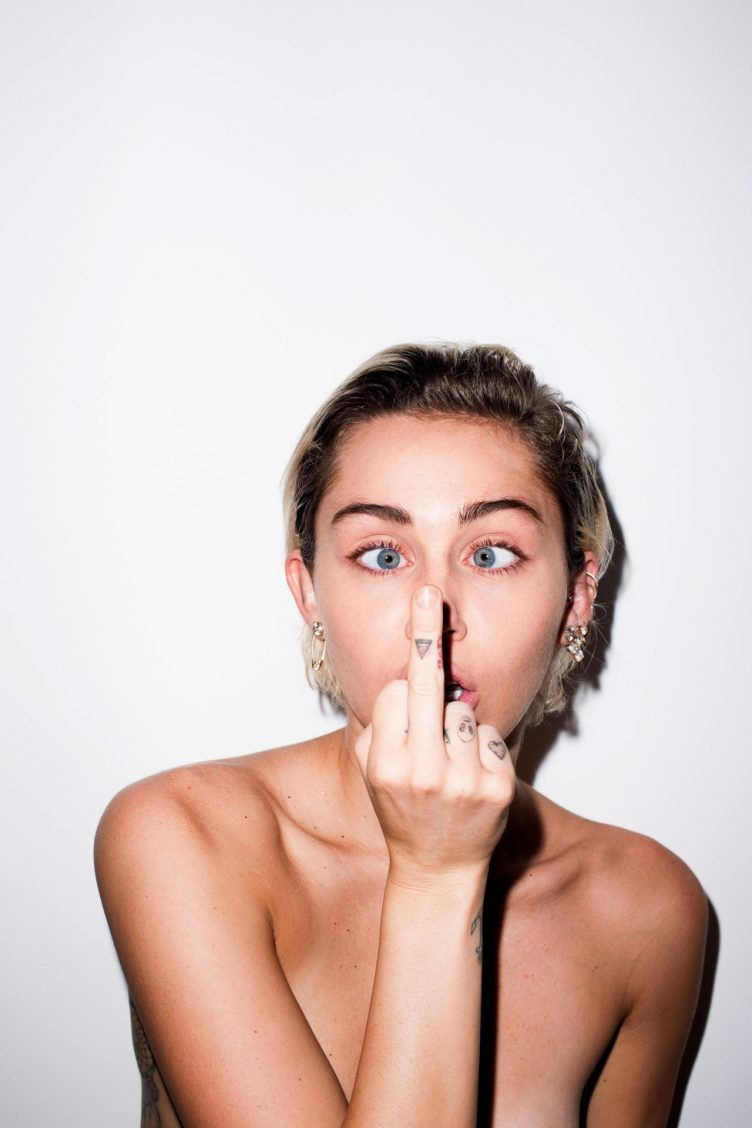 Miley Cyrus by Terry Richardson