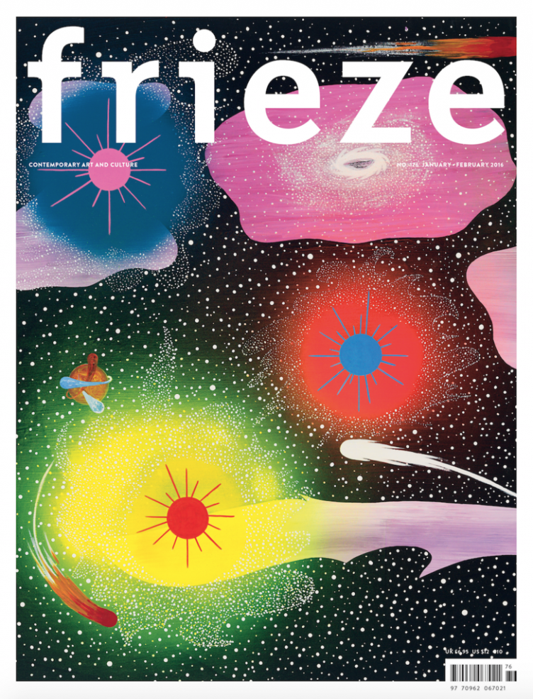 fieze-magazine-issue-176-cover