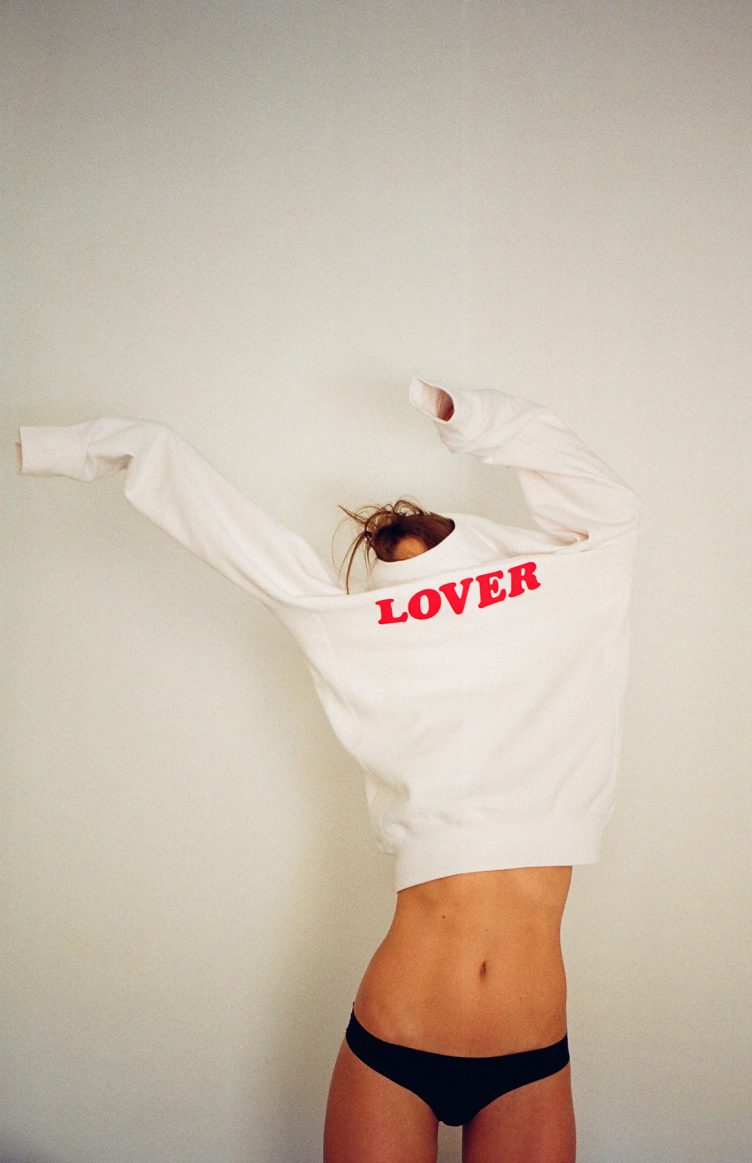 Lover top and knickers