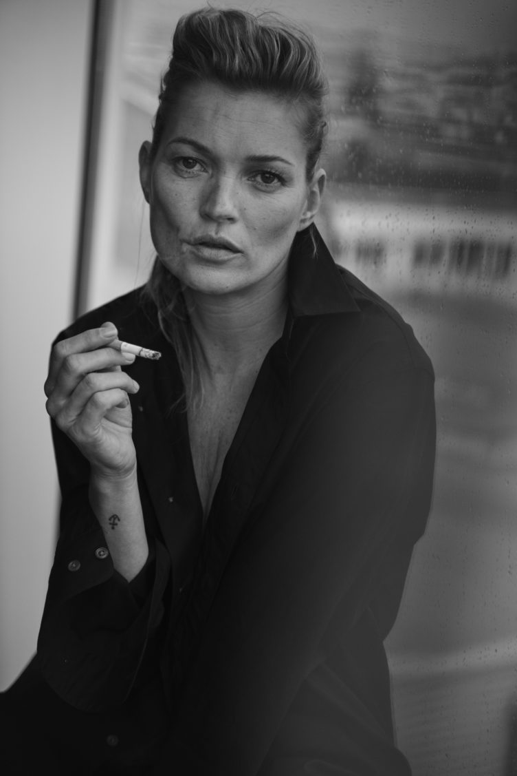 KATE MOSS, VOGUE ITALY, LITTLE GRAND STUDIO, PARIS, FRANCE, 2014