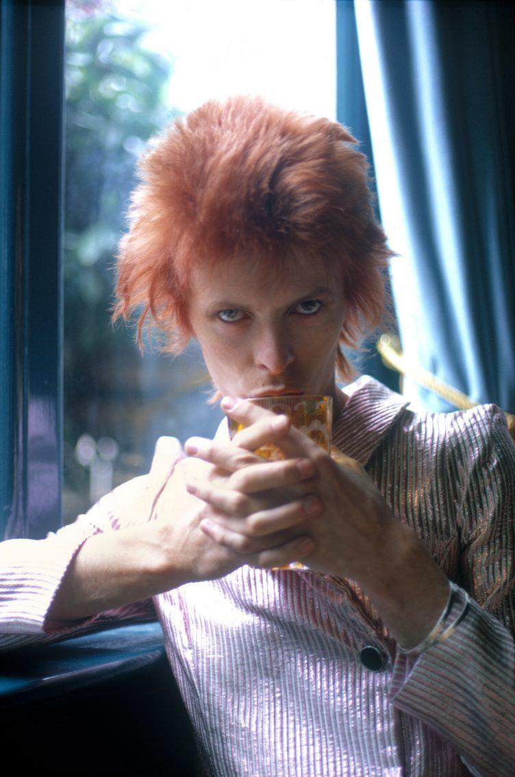 David Bowie, Haddon Hall, 1972 - Photo by Mick Rock