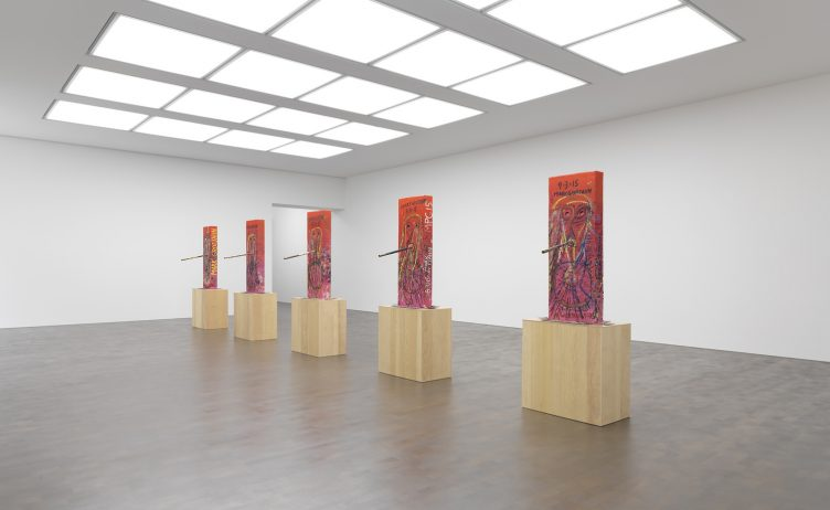 pink-cosco-installation-by-mark-grotjahn-at-gagosian-gallery-007