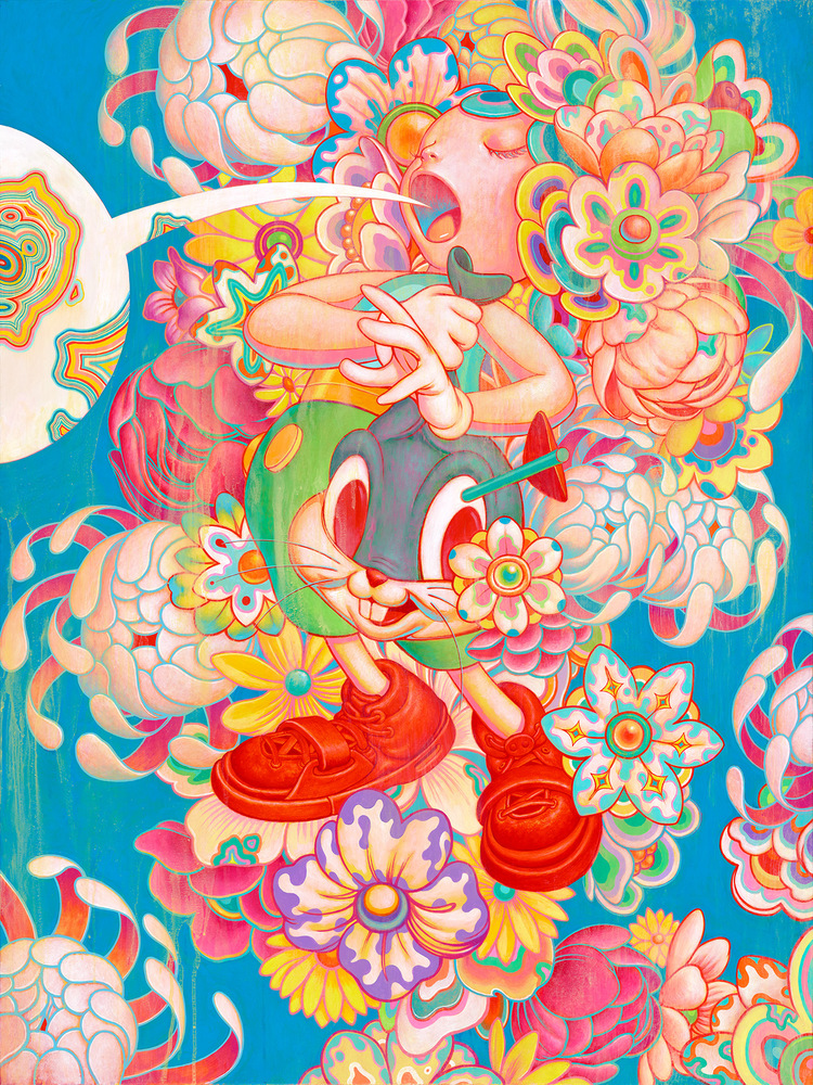 bouquet-36x48-james-jean