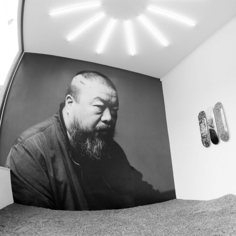Ai Weiwei skateboard decks designed for The Skateroom - Gallery