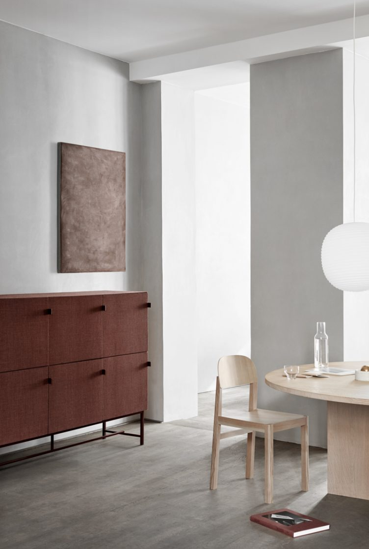 Norm Architects new collection of sound-absorbing cabinets for the Swedish brand Zilenzio 002