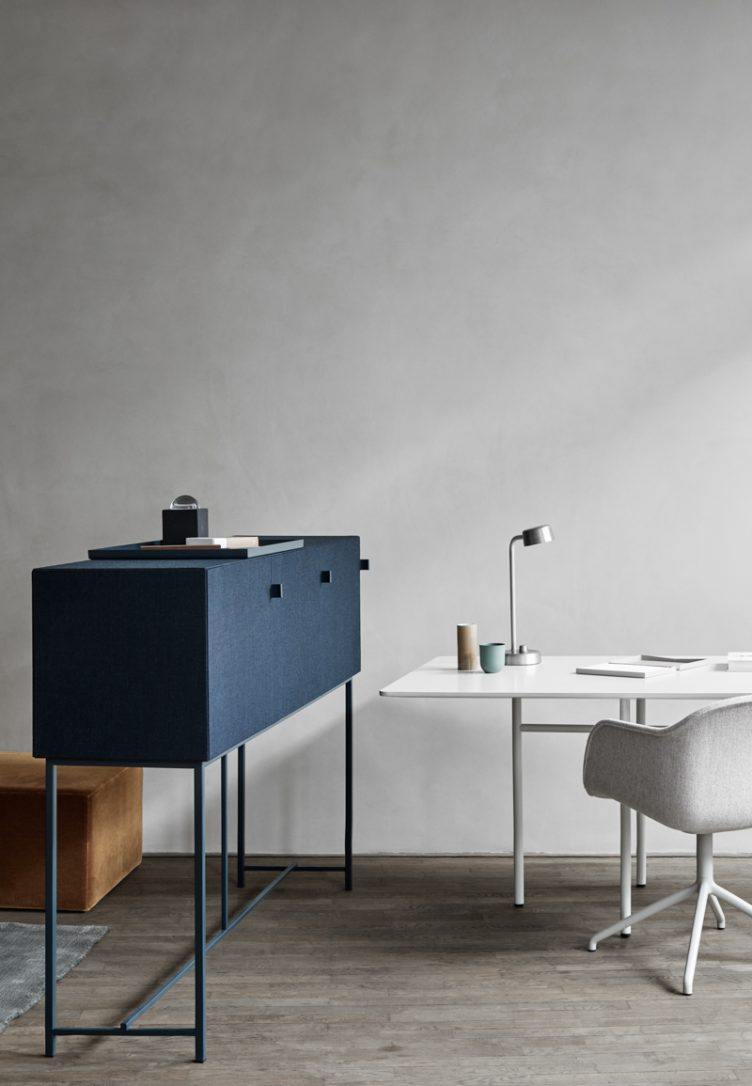 Norm Architects new collection of sound-absorbing cabinets for the Swedish brand Zilenzio 004