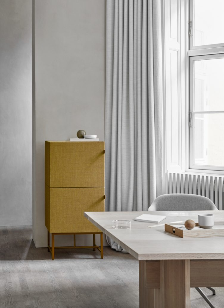 Norm Architects new collection of sound-absorbing cabinets for the Swedish brand Zilenzio 005