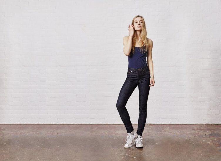 Hiut Denim Co Womens Skinny Fit  High Waist Denim Jeans  Fashion-1140