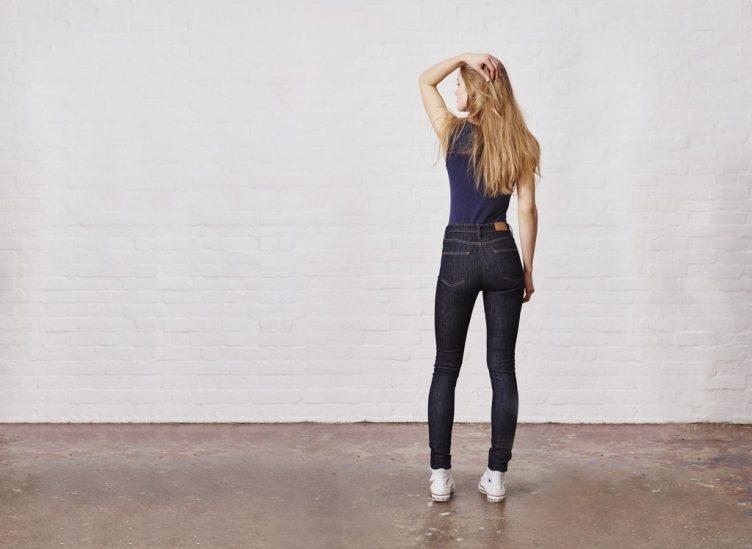 Hiut Denim Co Womens Skinny Fit  High Waist Denim Jeans  Fashion-9895