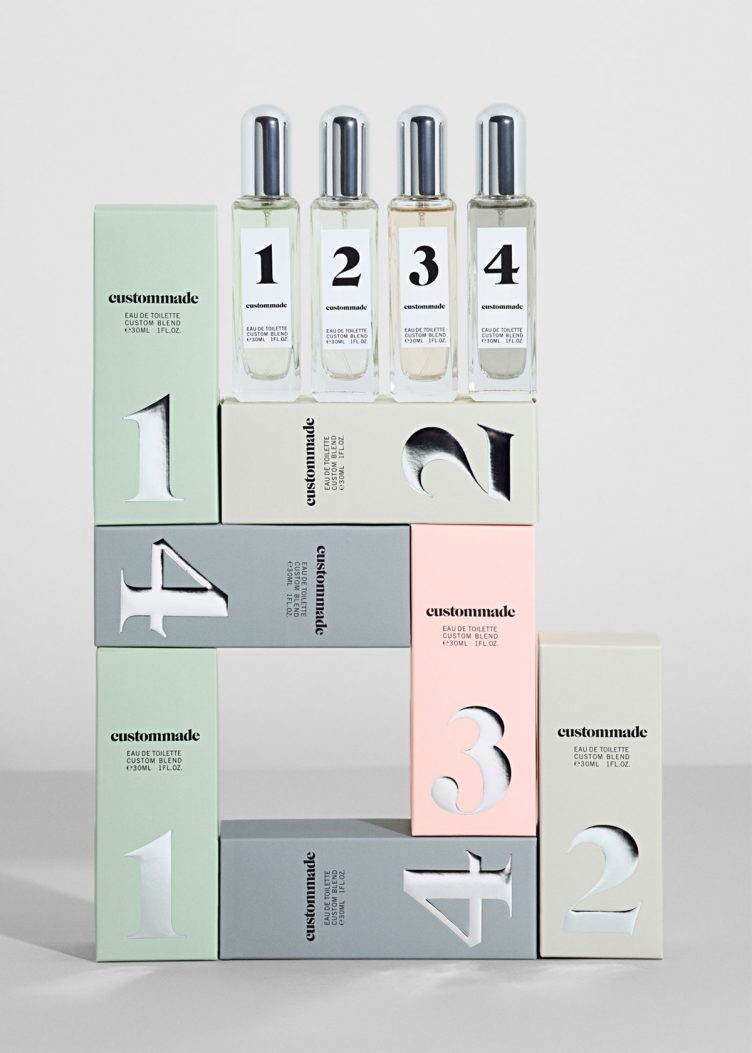 Custommade fragrance packaging by Homework 001