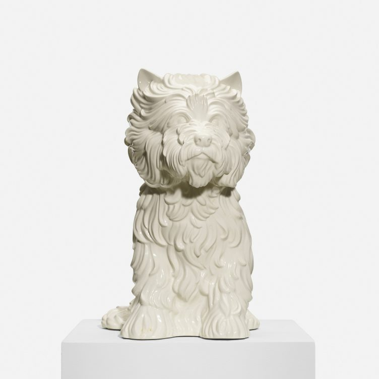 Jeff Koons, Puppy Vase, 1998 - Limited Edition Artwork 001