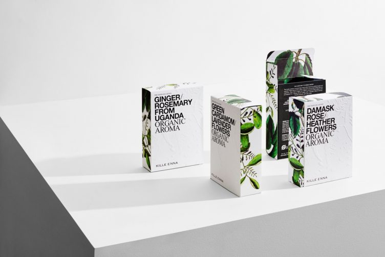 Kille Enna Organic Aroma Packaging by Homework - Design and Packaging 001