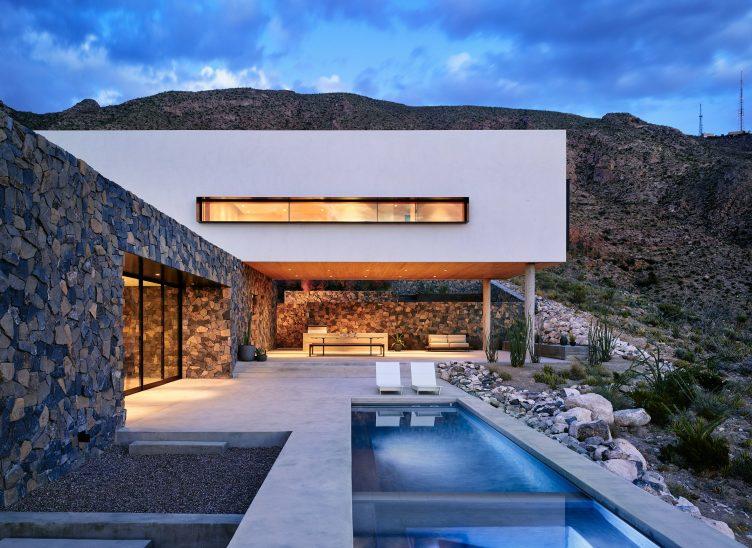 Franklin Mountain House, El Paso, Texas by Hazelbaker Rush 05