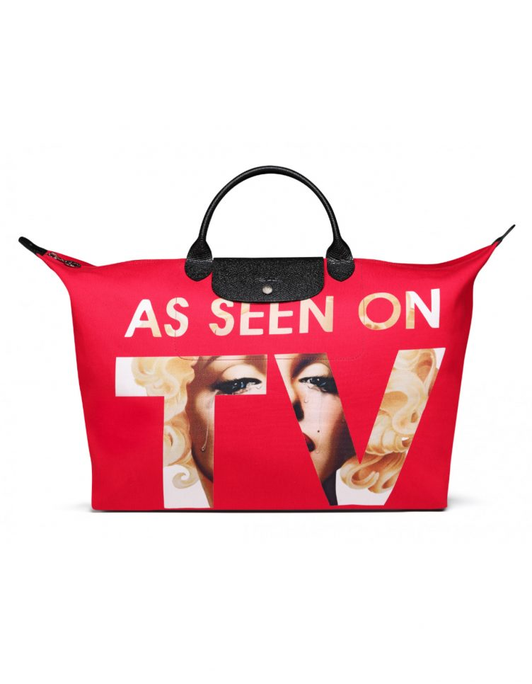 Longchamp X Jeremy Scott As seen on TV travel bag