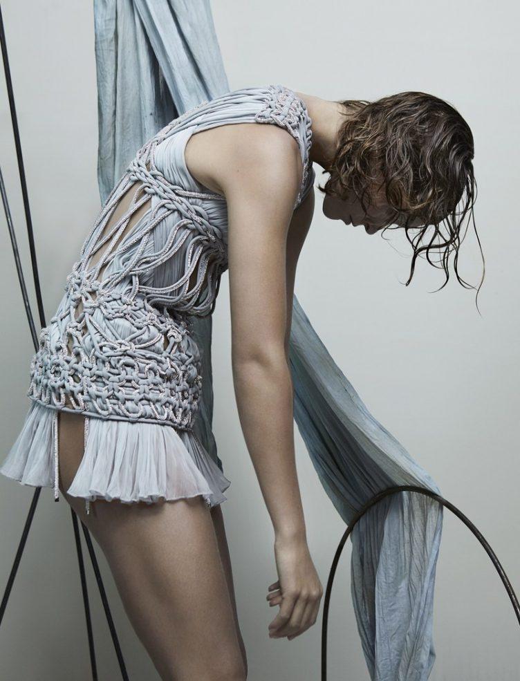 Katja Mayer photographs Arizona Muse for Numéro magazine 005
