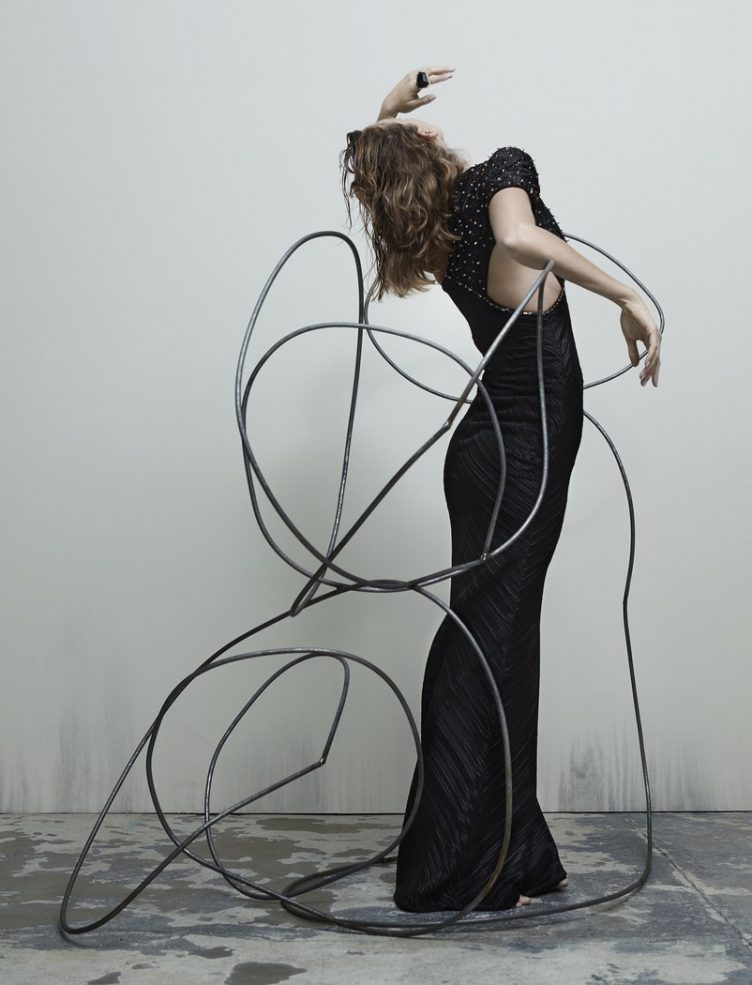 Katja Mayer photographs Arizona Muse for Numéro magazine 006