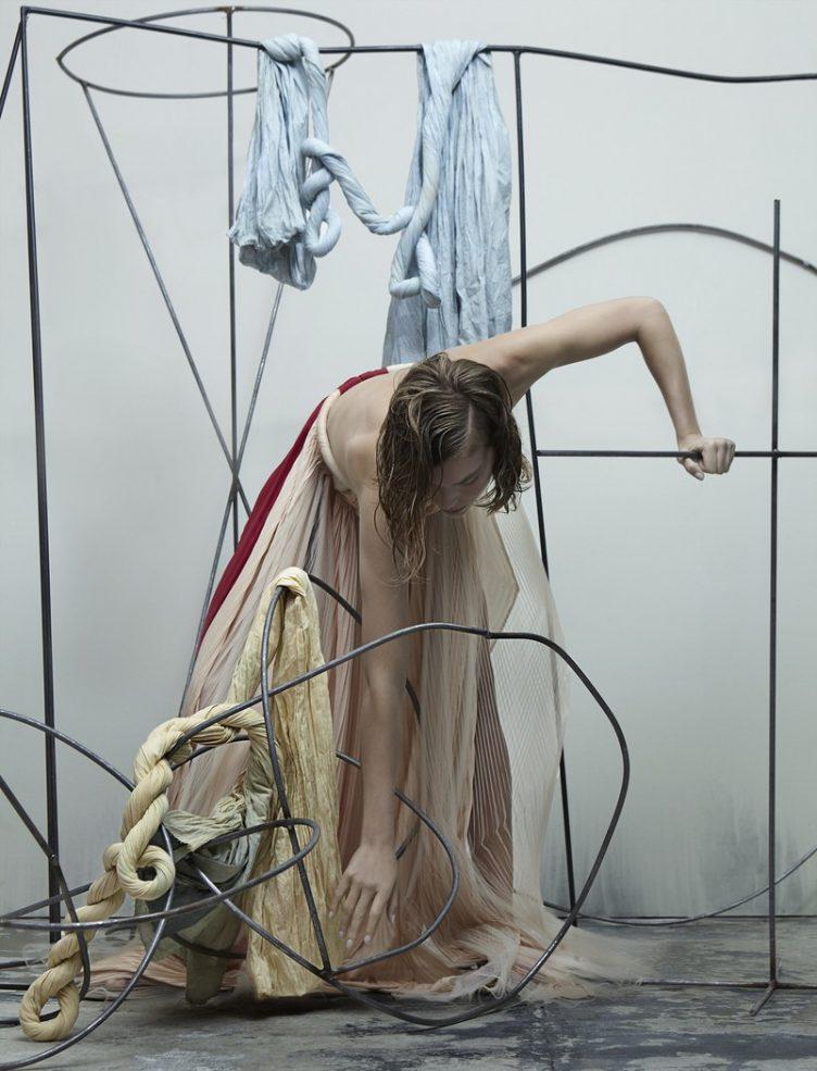 Katja Mayer photographs Arizona Muse for Numéro magazine 008