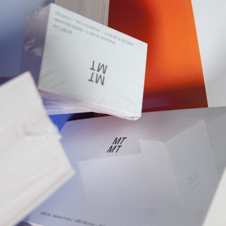 New identity and stationery for MTMT Life 03