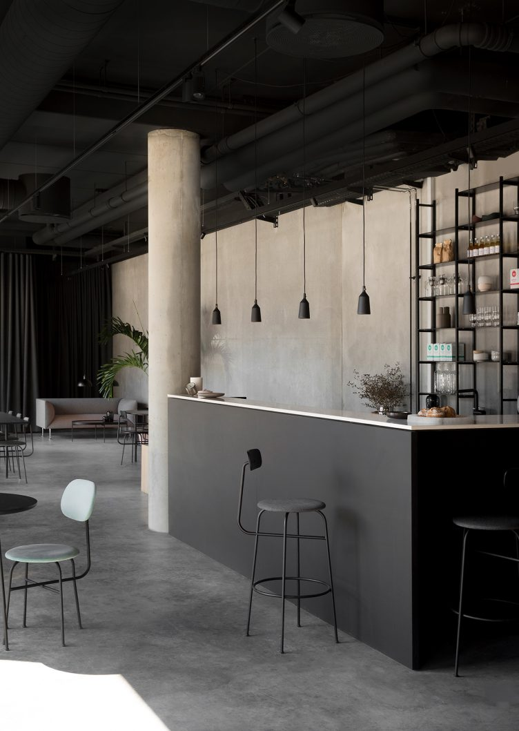 Norm Architects designed Menu Space is the newly finished showroom, office, and café 01