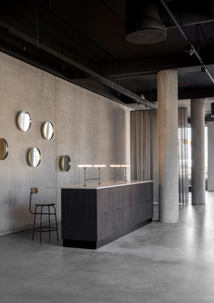 Norm Architects designed Menu Space is the newly finished showroom, office, and café 11