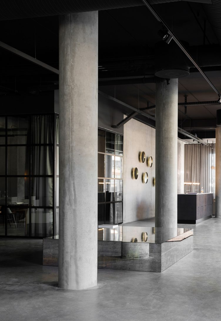 Norm Architects designed Menu Space is the newly finished showroom, office, and café 14