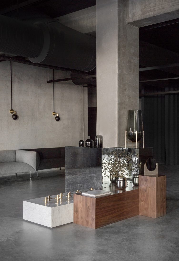 Norm Architects designed Menu Space is the newly finished showroom, office, and café 15