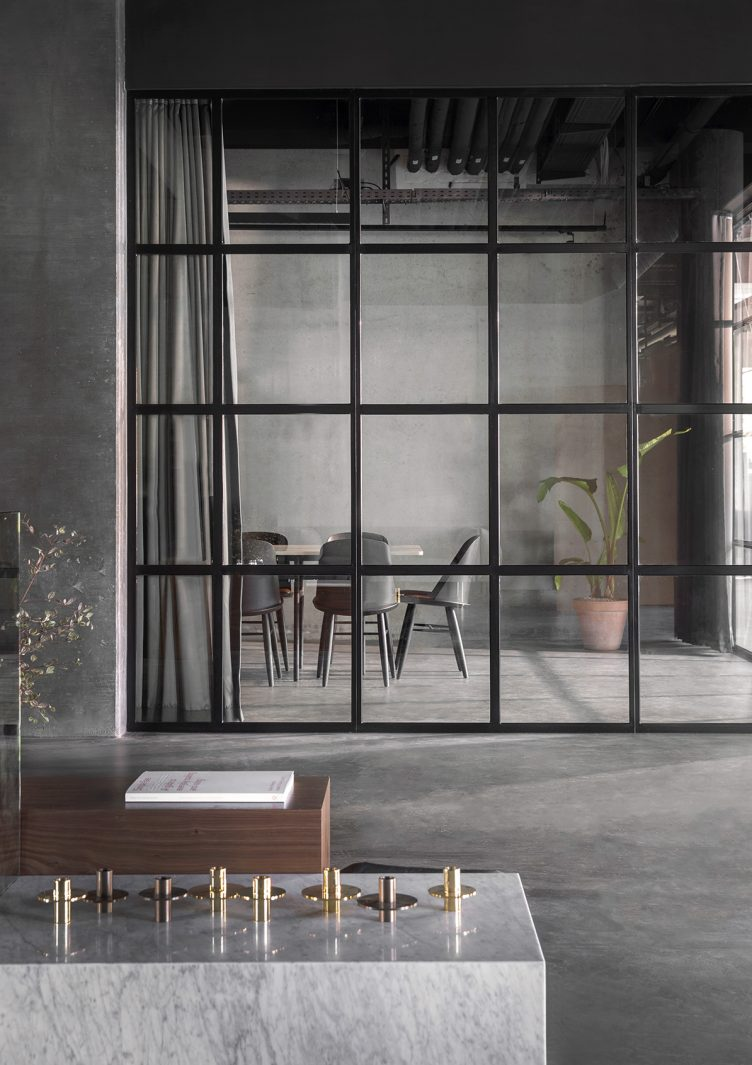 Norm Architects designed Menu Space is the newly finished showroom, office, and café 16