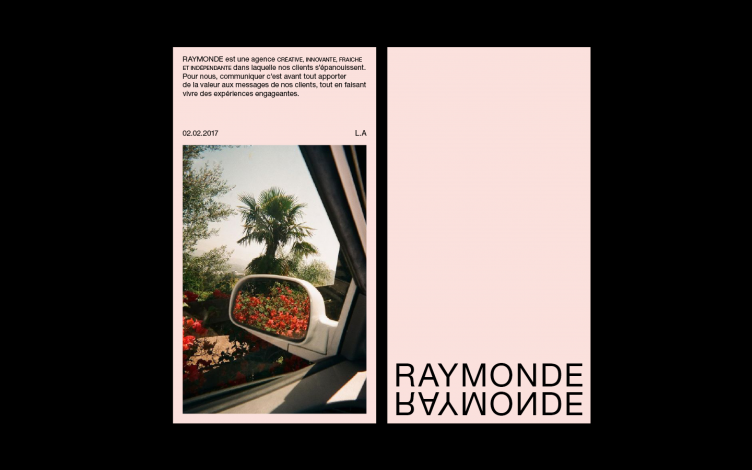 Raymonde Identity and Webdesign by Thibault Priou 04