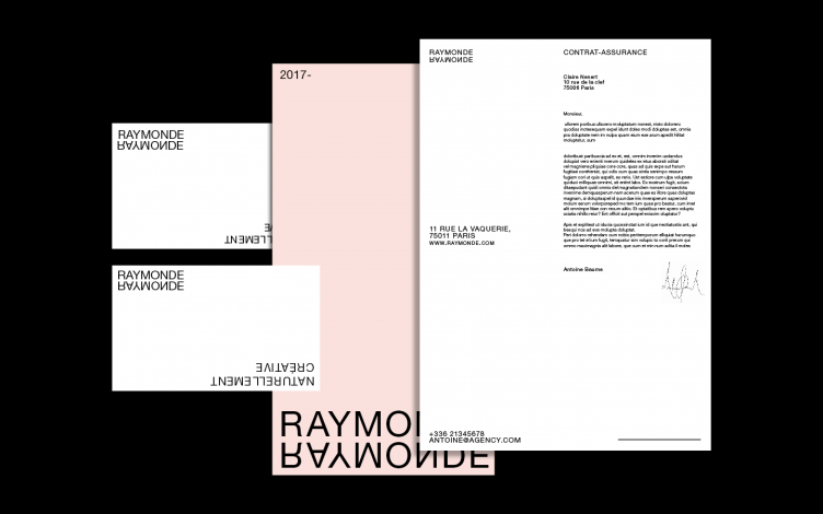 Raymonde Identity and Webdesign by Thibault Priou 08