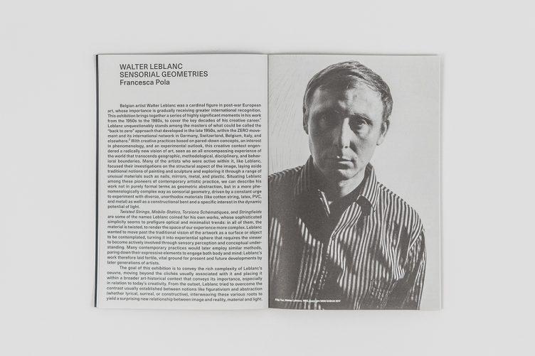Walter Leblanc: Sensorial Geometries / Geometrie Sensoriali 003
