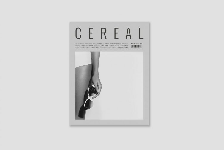Cereal Magazine Volume 13 Spring Summer 2017 Cover
