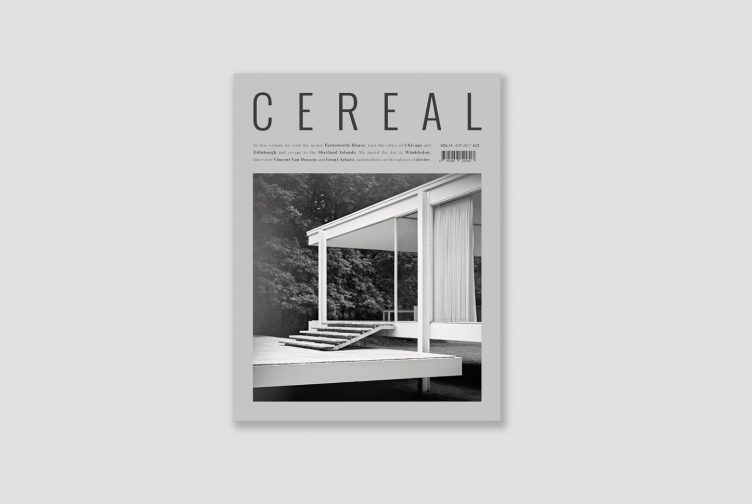Cereal Magazine Volume 14 Autumn Winter 2017 001