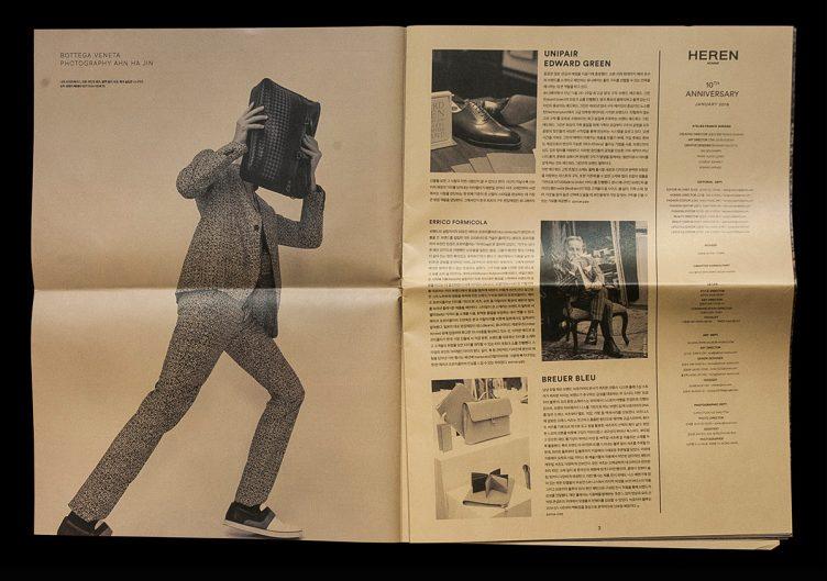 Heren Magazine Art Direction - Come de Bouchony 02